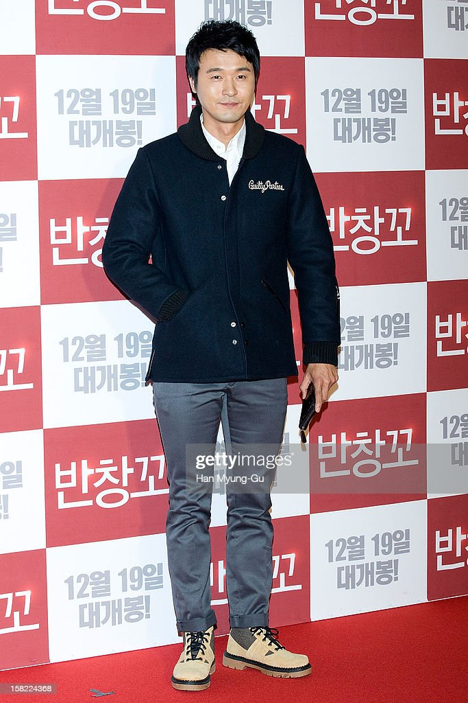 South Korean actor Lee Sung-Jae attends the 'Love 119' VIP Screening at Kyung Hee University on December 11, 2012 in Seoul, South Korea. The film will open on December 19 in South Korea.