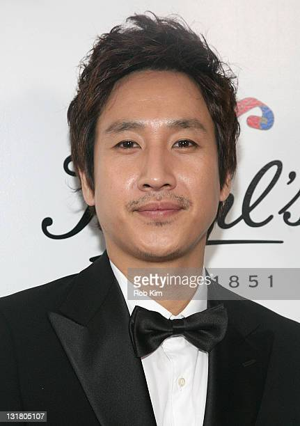 South Korean actor Lee Sunkyun attends Kiehl's 160th anniversary celebration at Kiehl's Flagship Store on May 18 2011 in New York City