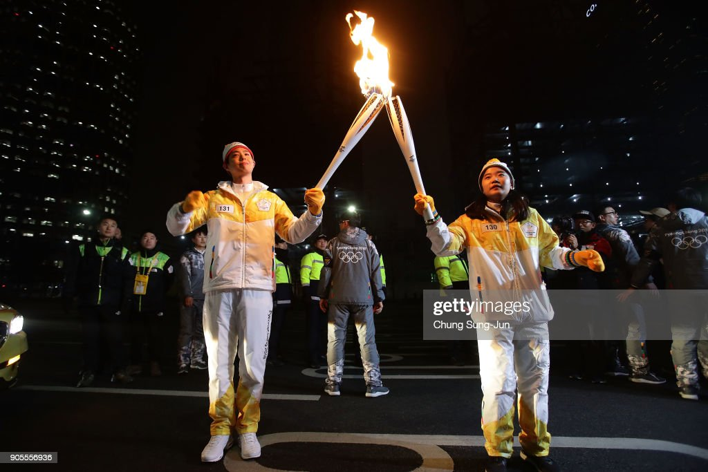 Olympic Torch Relay Continues