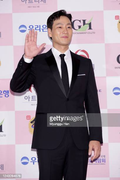 South Korean actor Park HaeSoo attends the 56th Daejong Film Awards at Grand Wallhill hotel on June 03 2020 in Seoul South Korea