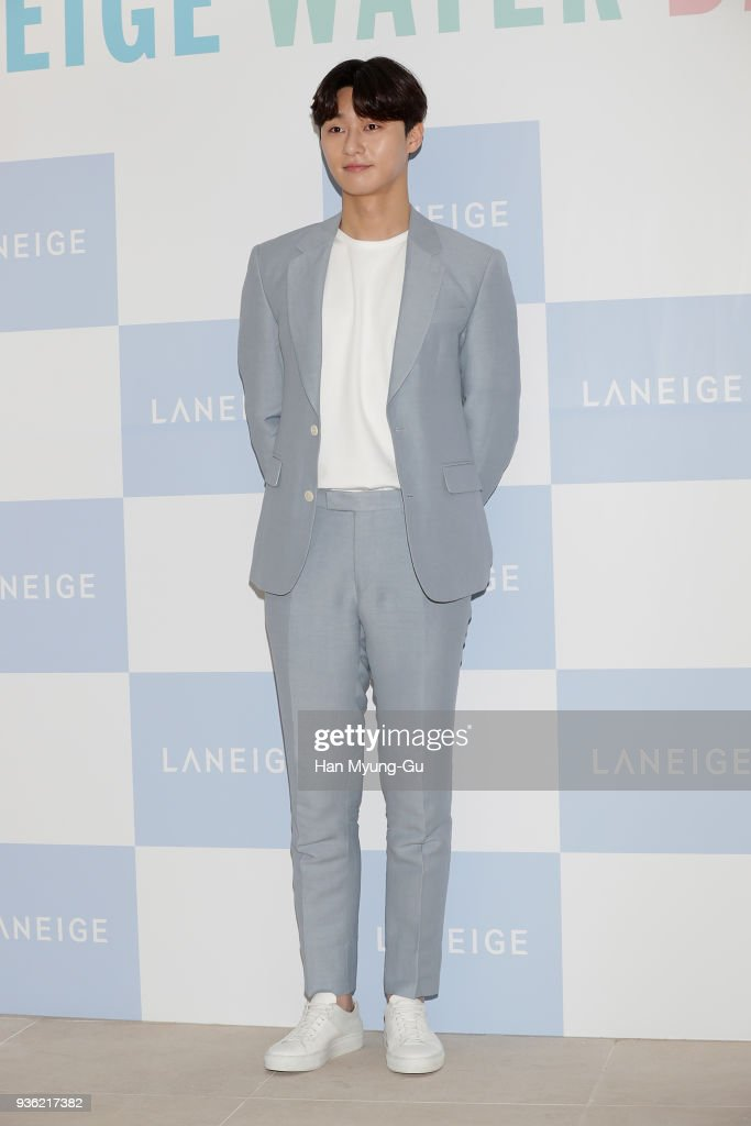 AMORE PACIFIC 'LANEIGE' Water Bank Moisture Essence Launch - Photocall