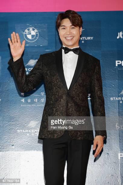 South Korean actor Park Su-Hong aka Park Soo-Hong attends the 53rd Baeksang Arts Awards at COEX on May 3, 2017 in Seoul, South Korea.