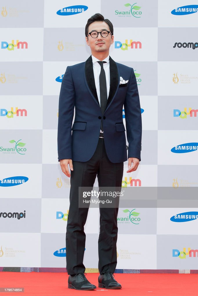 South Korean actor Ryu Seung-Soo arrives for photographs at the Seoul International Drama Awards 2013 at National Theater on September 5, 2013 in Seoul, South Korea.