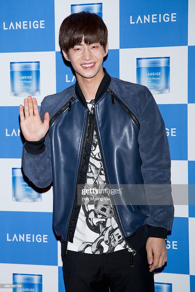 South Korean actor Song Jae-Lim attends the Laneige Launch Party at Y1975 on March 3, 2015 in Seoul, South Korea.