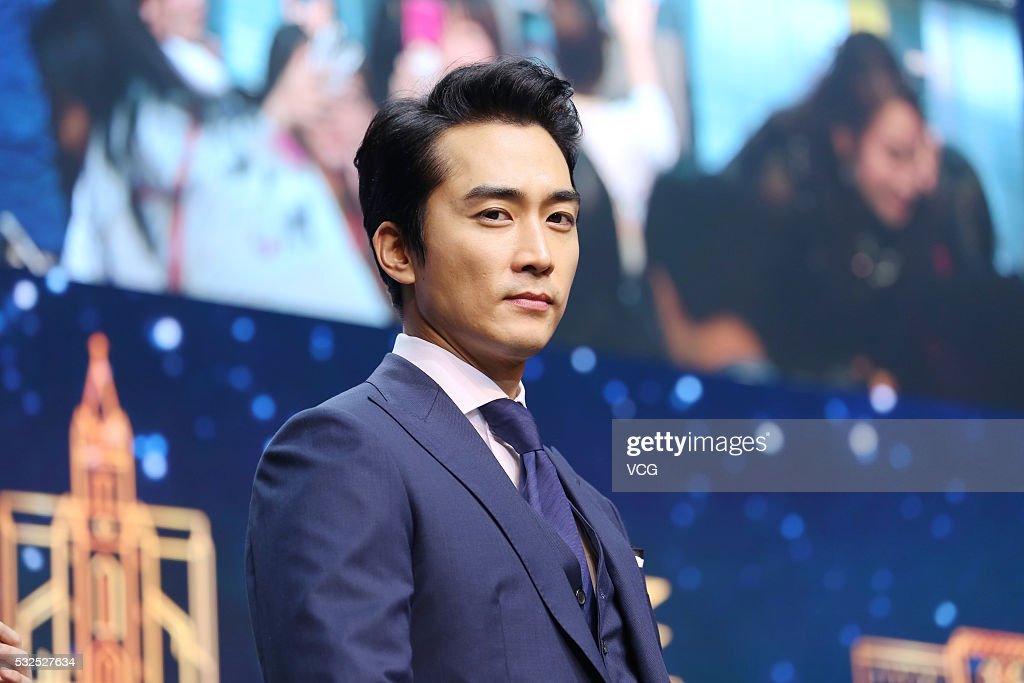 Song Seung-heon Attends Commercial Event In Shanghai