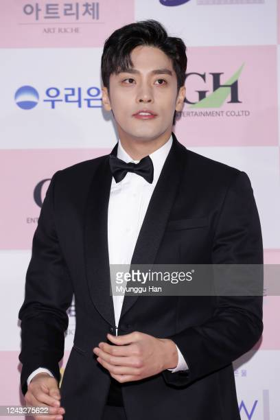 South Korean actor Sung Hoon attends the 56th Daejong Film Awards at Grand Wallhill hotel on June 03 2020 in Seoul South Korea