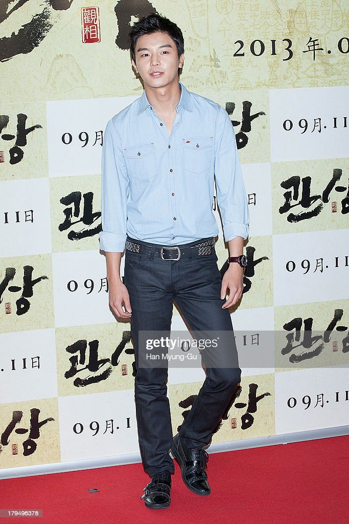 South Korean actor Yeon Woo-Jin attends during 'The Face Reader' VIP screening at the CGV on September 4, 2013 in Seoul, South Korea. The film will open on September 11, in South Korea.