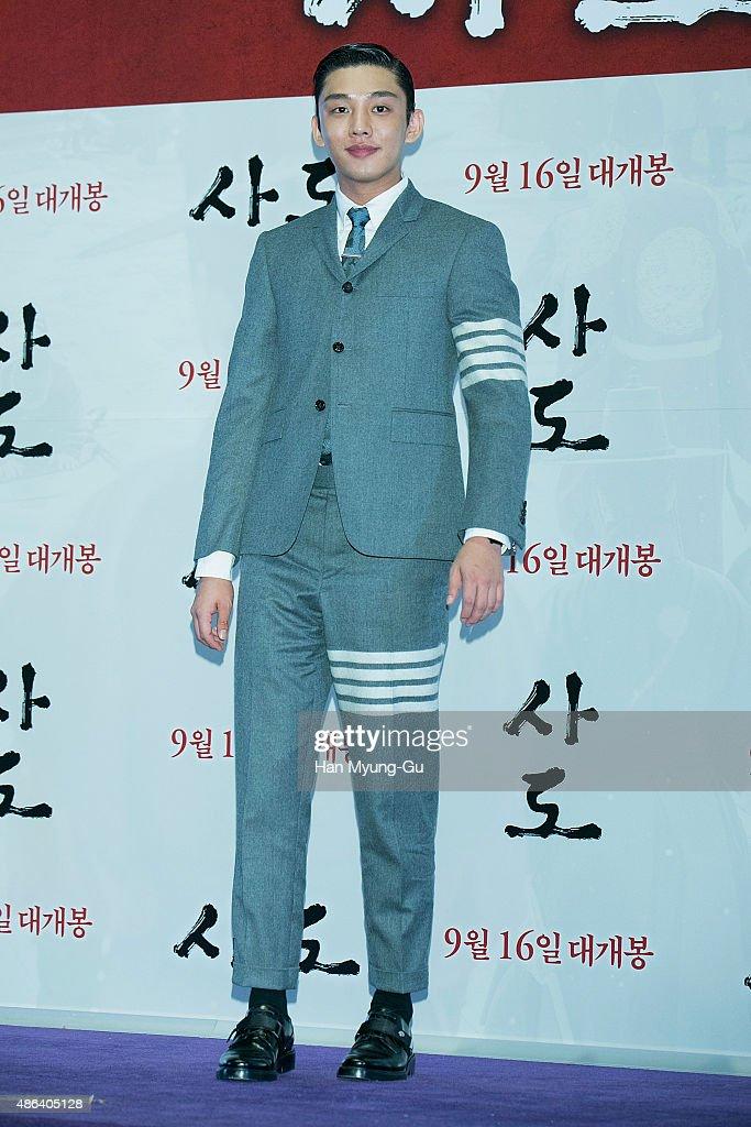 """""""Sado"""" Press Screening In Seoul"""