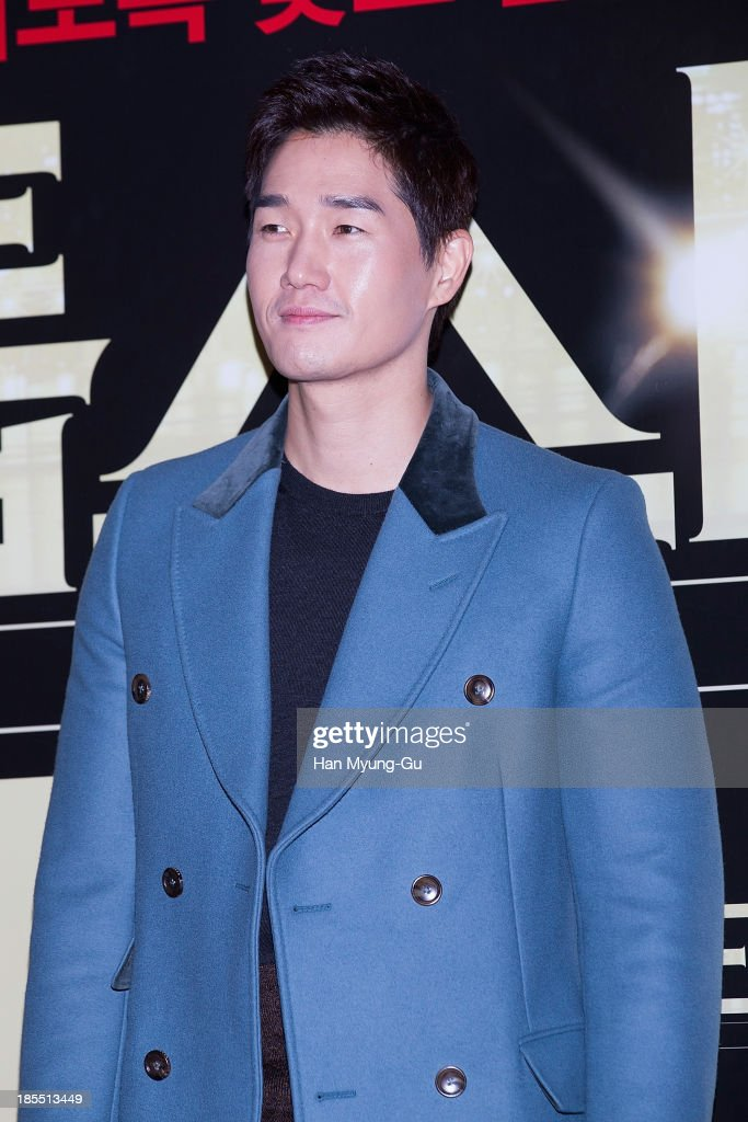 South Korean actor Yoo Ji-Tae attends the 'TOP Star' VIP Screening at Lotte Cinema on October 21, 2013 in Seoul, South Korea. The film will open on October 24, in South Korea.