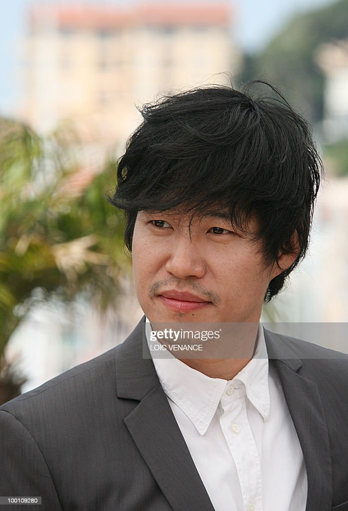 South Korean actor Yu Joonsang poses during the photocall 'Ha Ha Ha' presented in the Un Certain Regard selection at the 63rd Cannes Film Festival on May 21, 2010 in Cannes.