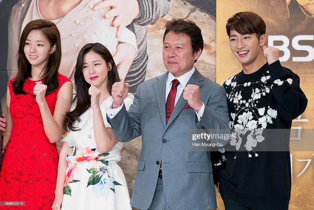 South Korean actors Chae Su-Bin , Kyeong Su-Jin , Chun Ho ...