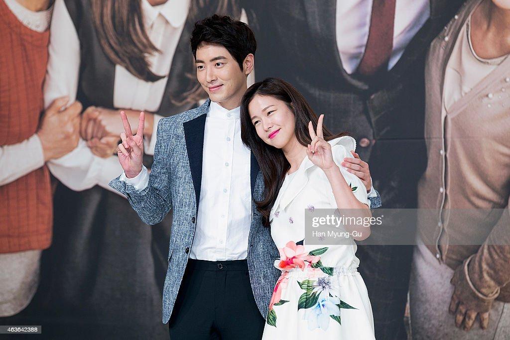 South Korean actors Lee Jun-Hyuk and Kyeong Su-Jin attends ...