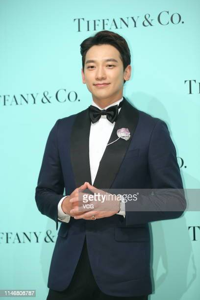 South Korean actor/singer Rain attends the Four Seasons of Tiffany event on May 3, 2019 in Taipei, Taiwan of China.