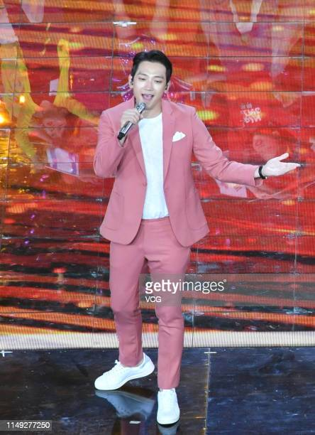 South Korean actor/singer Rain performs onstage during the Asian Culture Carnival at Beijing National Stadium on May 15, 2019 in Beijing, China.