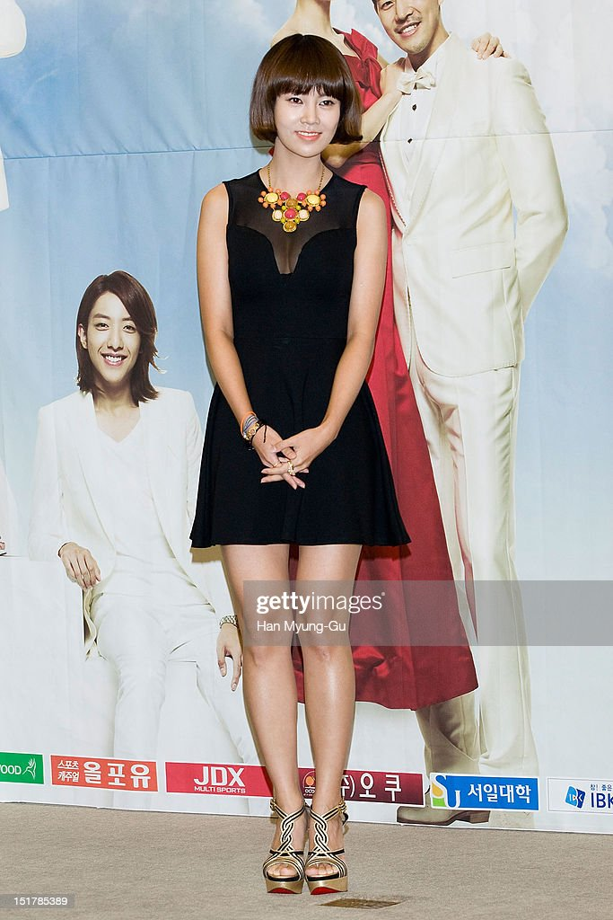 South Korean actress Choi Yun-Young attends during a press conference to promote the KBS drama 'My Daughter, Seoyoung' on September 11, 2012 in Seoul, South Korea. The drama will open on September 15 in South Korea.