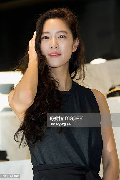South Korean actress Clara attends the 'Suecomma Bonnie' Flagship Store Opening on June 24 2014 in Seoul South Korea