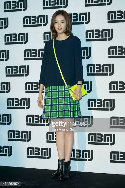 South Korean actress Go ARa attends the after party for Marc By Marc Jacobs Fall 2014 Fashion Preview on August 27 2014 in Seoul South Korea