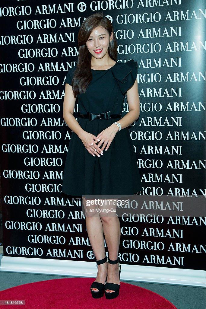 "Ha Ji-Won Attends ""Giorgio Armani Beauty"" Photocall"