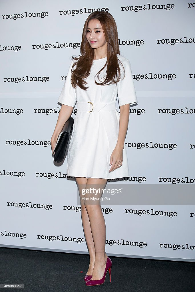 South Korean actress Han Chae-Young attends the photo call