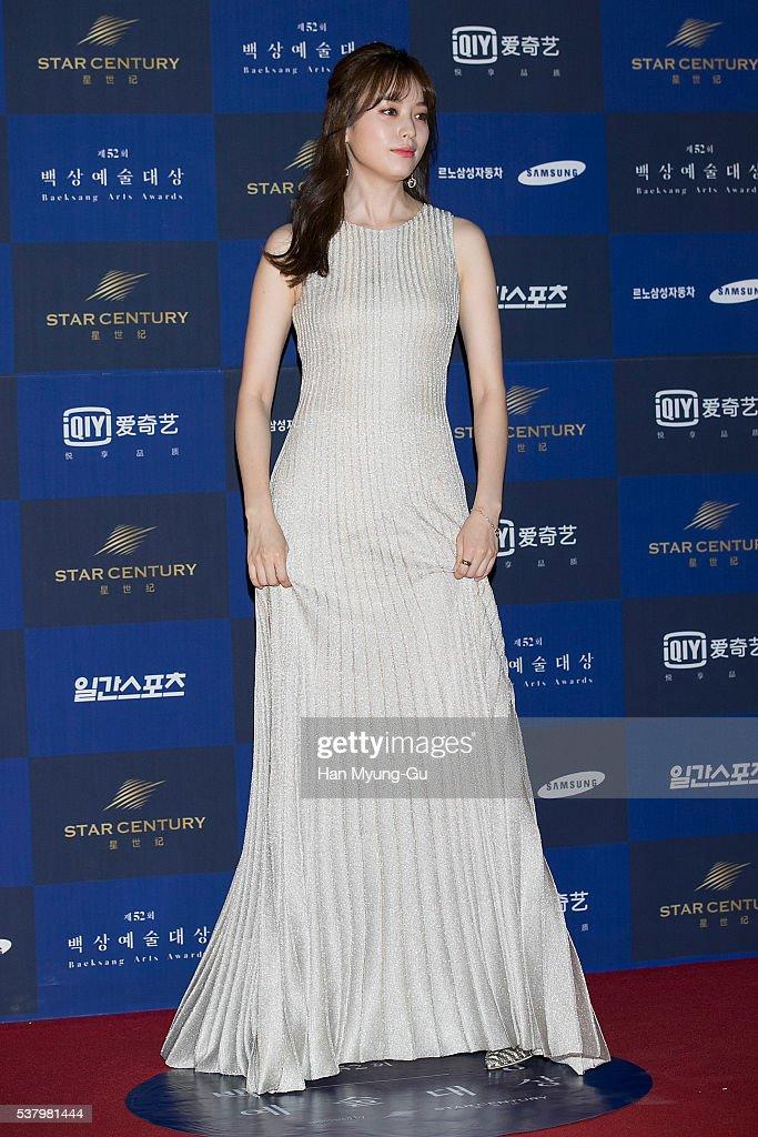 South Korean actress Han Hyo-Joo attends the 52th Paeksang