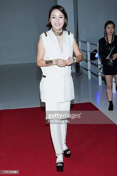 South Korean actress Jang MiHee attends the 'OMEGA' CoAxial Movement Exhibition at Beyond Museum on July 8 2013 in Seoul South Korea