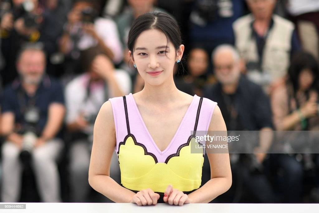 South Korean actress Jun Jong Seo poses on May 17, 2018 during a photocall for the film 'Burning' at the 71st edition of the Cannes Film Festival in Cannes, southern France.