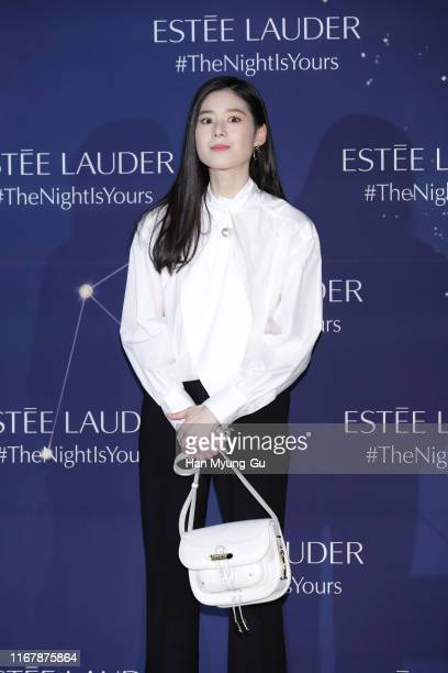 South Korean actress Jung Eun-Chae attends the photocall for 'Estee Lauder' at the Shilla hotel on August 13, 2019 in Seoul, South Korea.