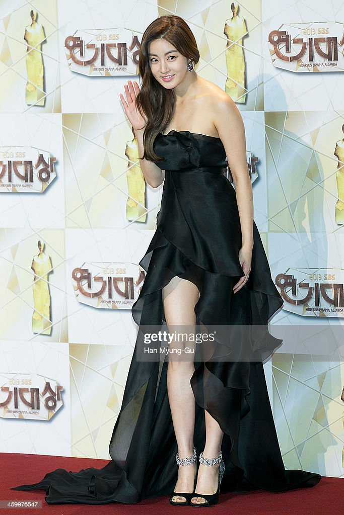 South Korean actress Kang So-Ra attends the 2013 SBS Drama Awards at SBS on December 31, 2013 in Seoul, South Korea.