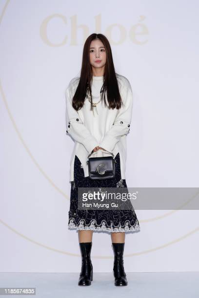 South Korean actress Ki Eun-Se attends the photocall for 'Chloe' C pop-up store at Lotte Department Store on November 05, 2019 in Seoul, South Korea.