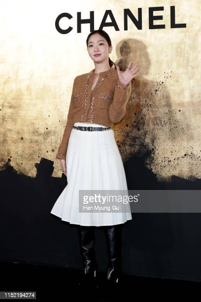 South Korean actress Kim GoEun attends the CHANEL ParisNew York 2018'19 Metiers d'Art show on May 28 2019 in Seoul South Korea