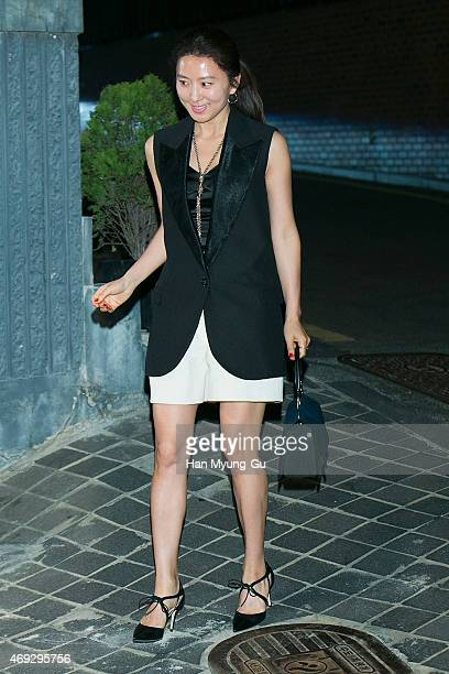 3077d90119b South Korean actress Kim HeeAe attends the  Jimmy Choo  Moments In Style  Party on