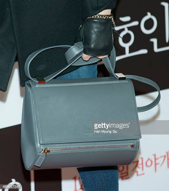 South Korean actress Kim HyeSoo attends The Attorney VIP screening at COEX Mega Box on December 11 2013 in Seoul South Korea