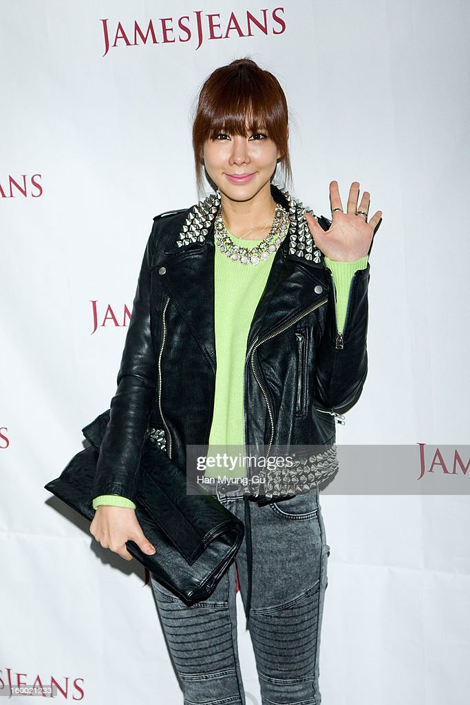 South Korean actress Kim Jun-Hee attends the 'JamesJeans' Flagship Store opening on January 24, 2013 in Seoul, South Korea.