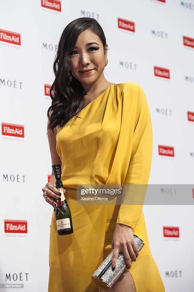 South Korean actress Kim Ko-Eun attends at the Moet & Chandon and FilmAid Asia Power of Film Gala at Clear Water Bay Film Studios on March 16, 2013 in Hong Kong, Hong Kong.