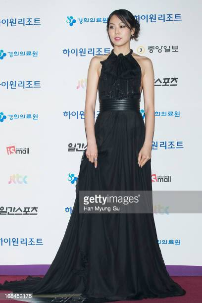 South Korean actress Kim MinHee attends the 49th Paeksang Arts Awards on May 9 2013 in Seoul South Korea