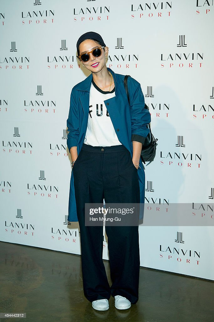 South Korean actress Kim Na-Young attends 'Lanvin Sport' FW 2014 Grand Open on August 29, 2014 in Seoul, South Korea.