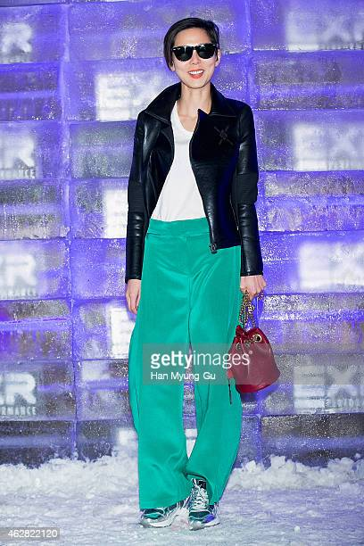 South Korean actress Kim Na-Young attends the EXR Excelerate Night at The Raum on February 5, 2015 in Seoul, South Korea.