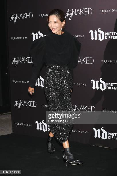 South Korean actress Kim Na-Young attends the photocall for 'URBAN DECAY' stayNAKED launch event on August 20, 2019 in Seoul, South Korea.