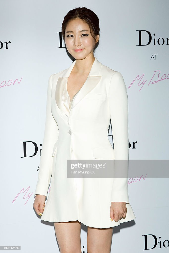 South Korean actress Kim Sa-Rang attends a promotional ...