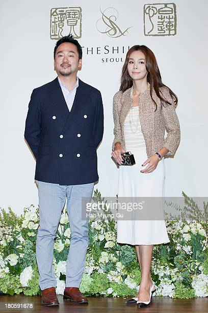 South Korean actress Kim SeA and guest attend the wedding of Bae SooBin at The Shilla Hotel on September 14 2013 in Seoul South Korea