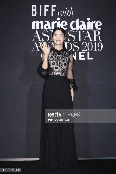 South Korean actress Kim Se-Yeon attends the Marie Claire 2019 Asia Star Awards on October 04, 2019 in Busan, South Korea.