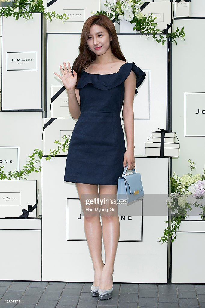 South Korean actress Kim So-Eun attends the photocall for Jo Malone London Hannam boutique opening on May 12, 2015 in Seoul, South Korea.