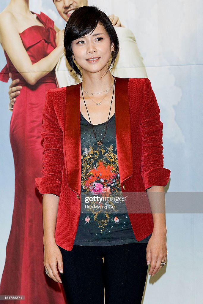 South Korean actress Lee Bo-Young attends during a press conference to promote the KBS drama 'My Daughter, Seoyoung' on September 11, 2012 in Seoul, South Korea. The drama will open on September 15 in South Korea.