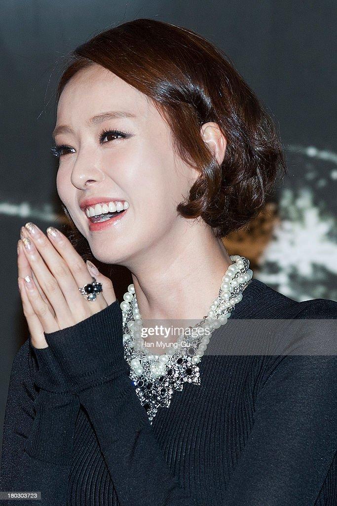 South Korean actress Lee Da-Hee attends the KBS Drama