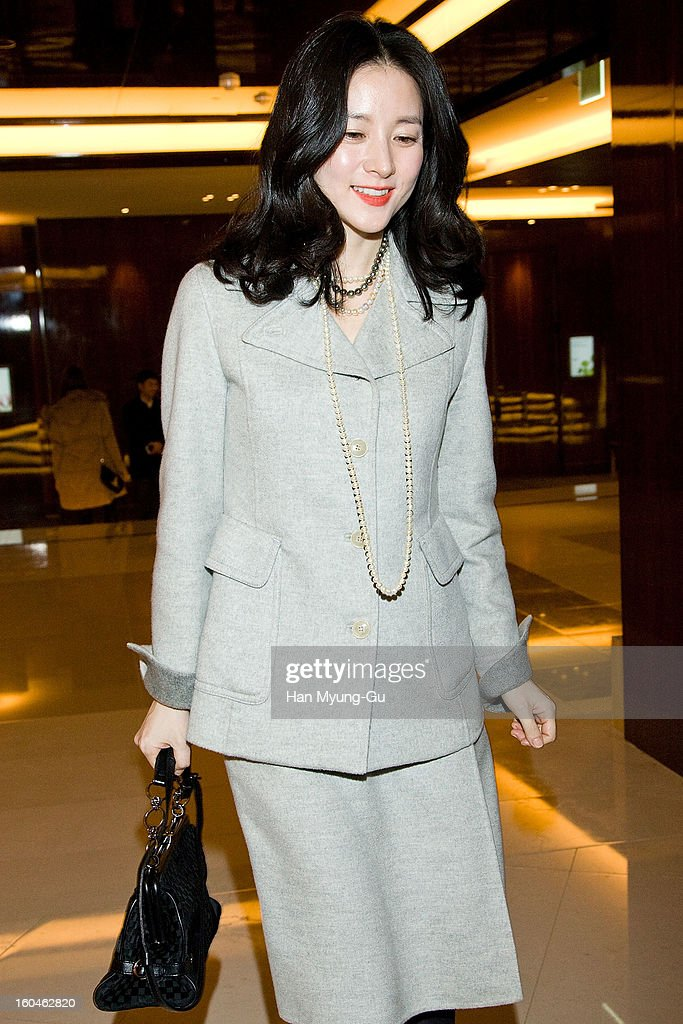 South Korean actress Lee Young-Ae is seen at the Westin Chosun Hotel on January 31, 2013 in Seoul, South Korea.