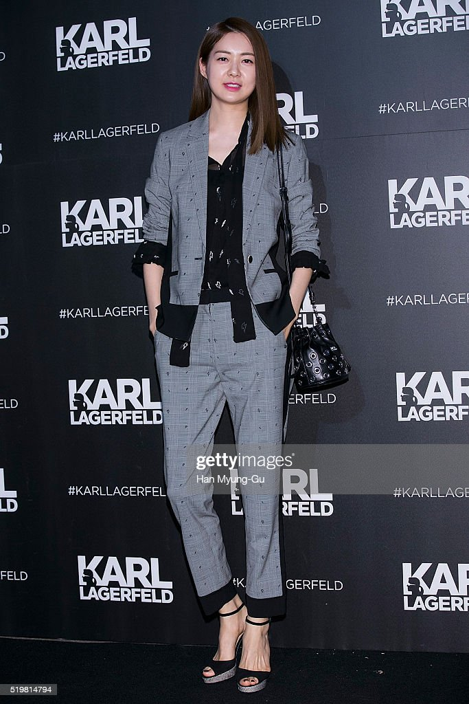 """Karl Lagerfeld"" Flagship Store  Opening In Gangnam"