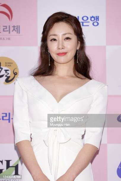 South Korean actress Oh NaRa attends the 56th Daejong Film Awards at Grand Wallhill hotel on June 03 2020 in Seoul South Korea