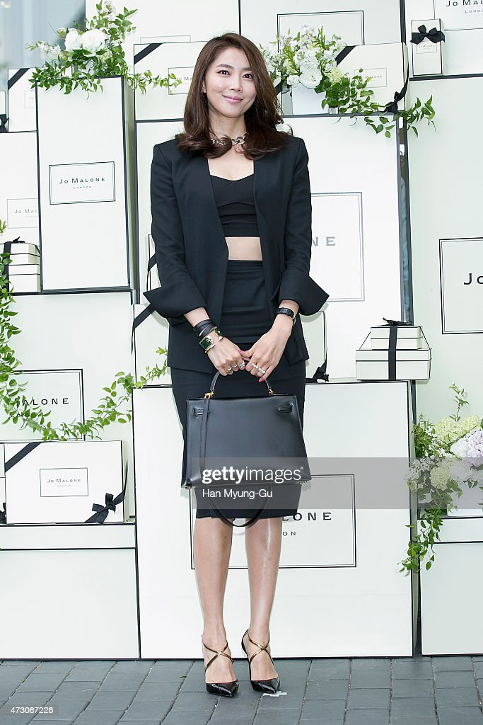 South Korean actress Oh Yoon-Ah attends the photocall for Jo Malone London Hannam boutique opening on May 12, 2015 in Seoul, South Korea.