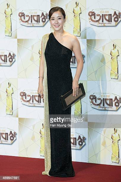 South Korean actress Park EunHye attends the 2013 SBS Drama Awards at SBS on December 31 2013 in Seoul South Korea