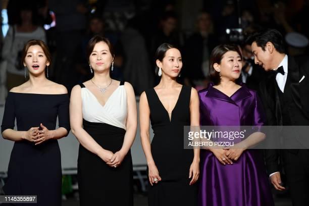 South Korean actress Park Sodam South korean actress Chang Hyaejin South Korean actress Cho Yeojeong South Korean actress Lee JungEun and South...